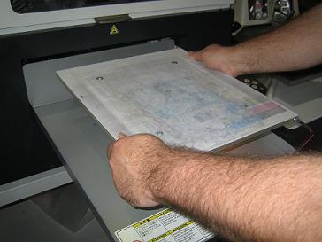 GT Cap Platen for GT-541, GT-782 & GT-3 Printers