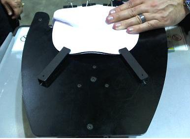 Black Clips GT Cap Platen - GT-541, GT-782 & GT-3 dtg Printers